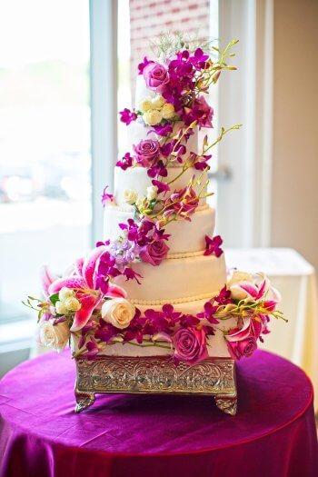 Hochzeitstorte Orchideen Grosse Bildergalerie Mit Beispielbildern