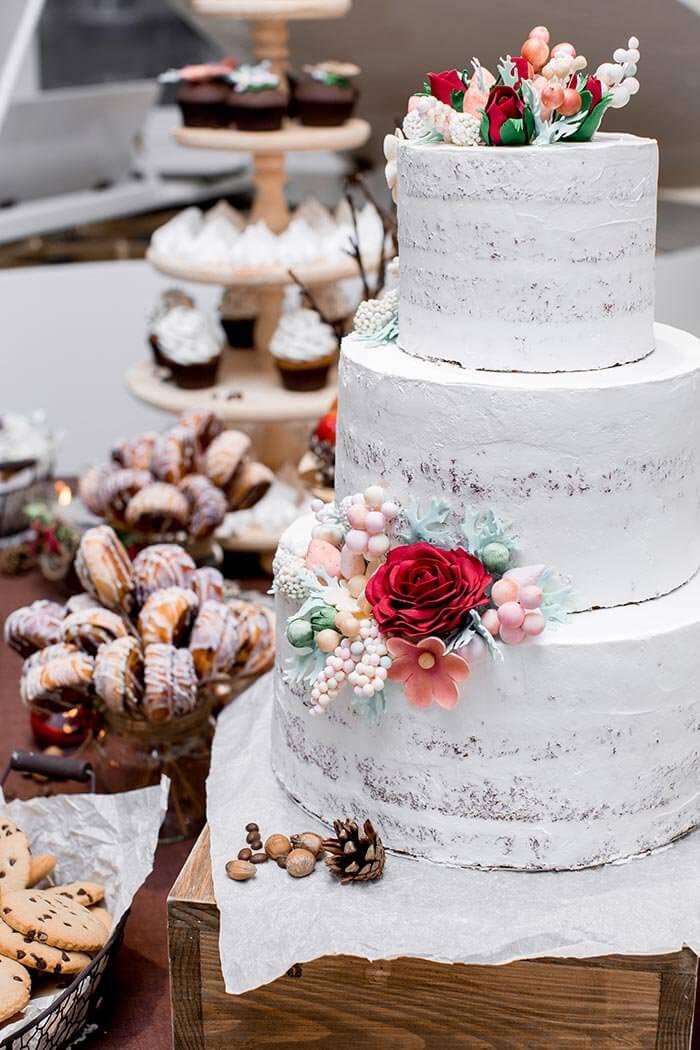 Hochzeitstorte Sahne
