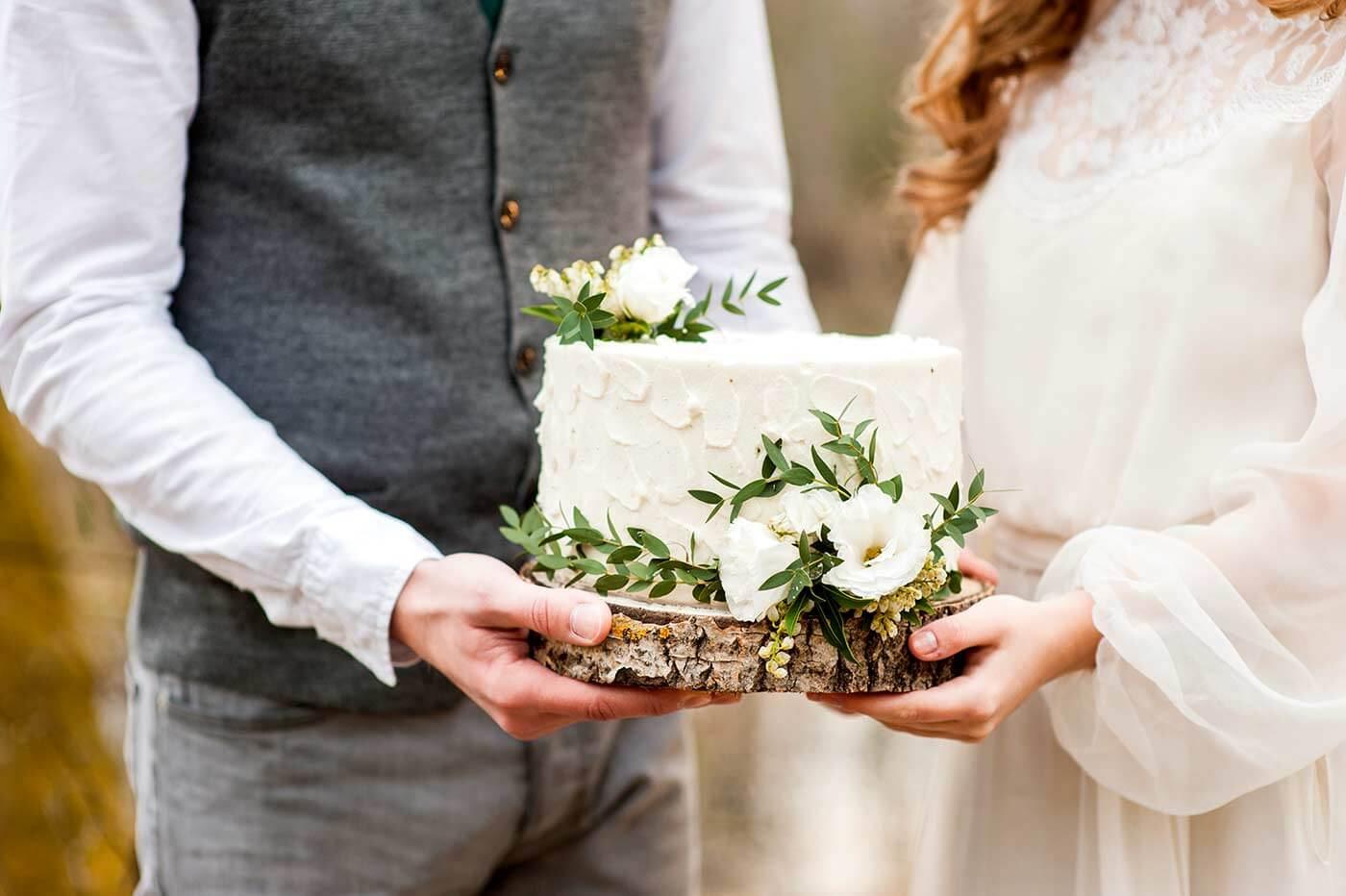 Hochzeitstorte klein