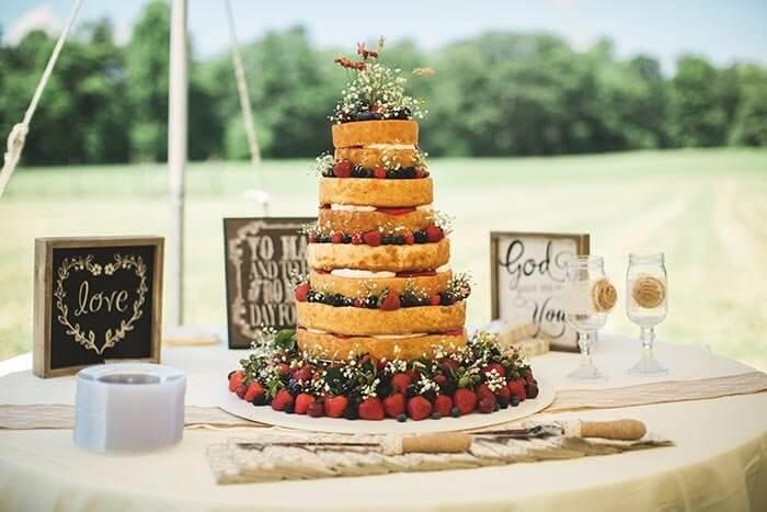 Hochzeitstorte selber backen