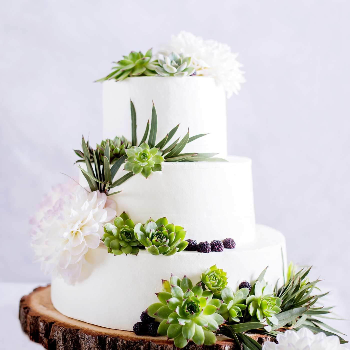Hochzeitstorten 3-stöckig