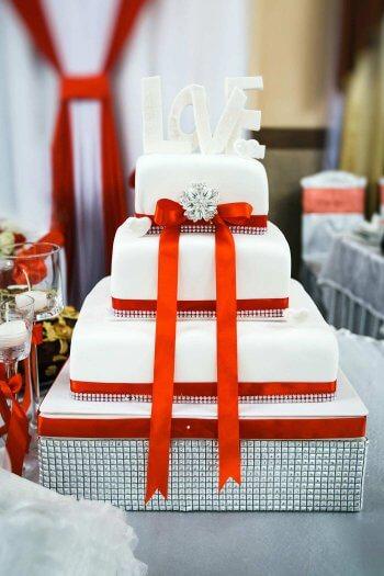 Hochzeitstorten eckig