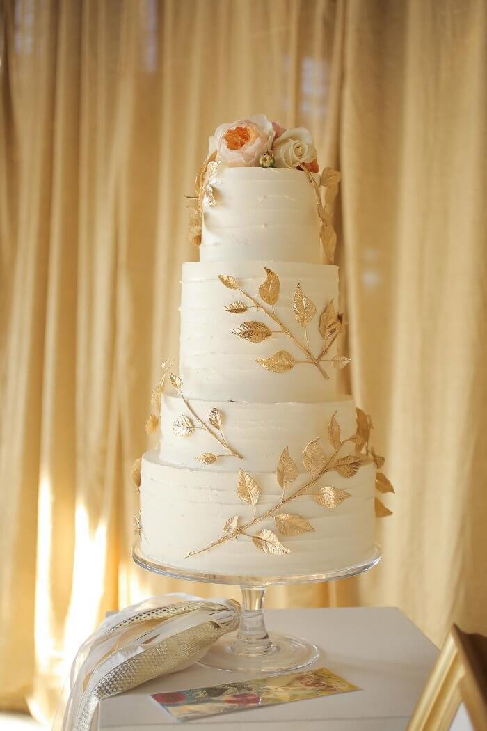Hochzeitstorten gold
