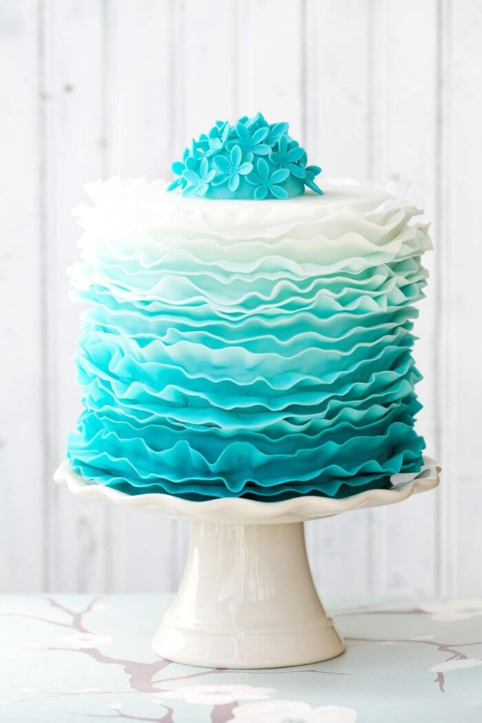 Ombre Kuchen