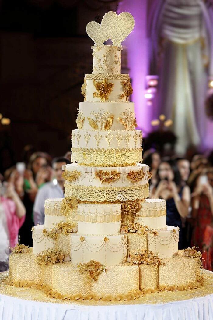 Torte Zur Goldenen Hochzeit Mehr Inspirationen In Der Bildergalerie