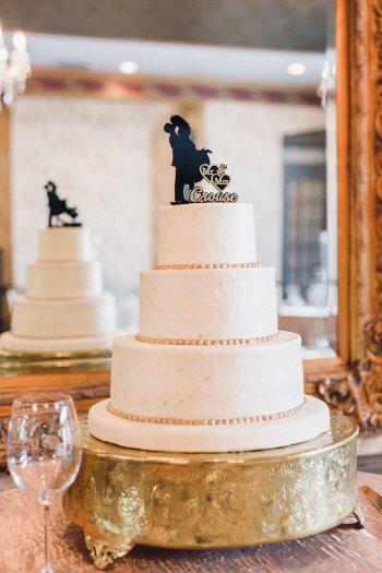 Tortenaufsatz Brautpaar