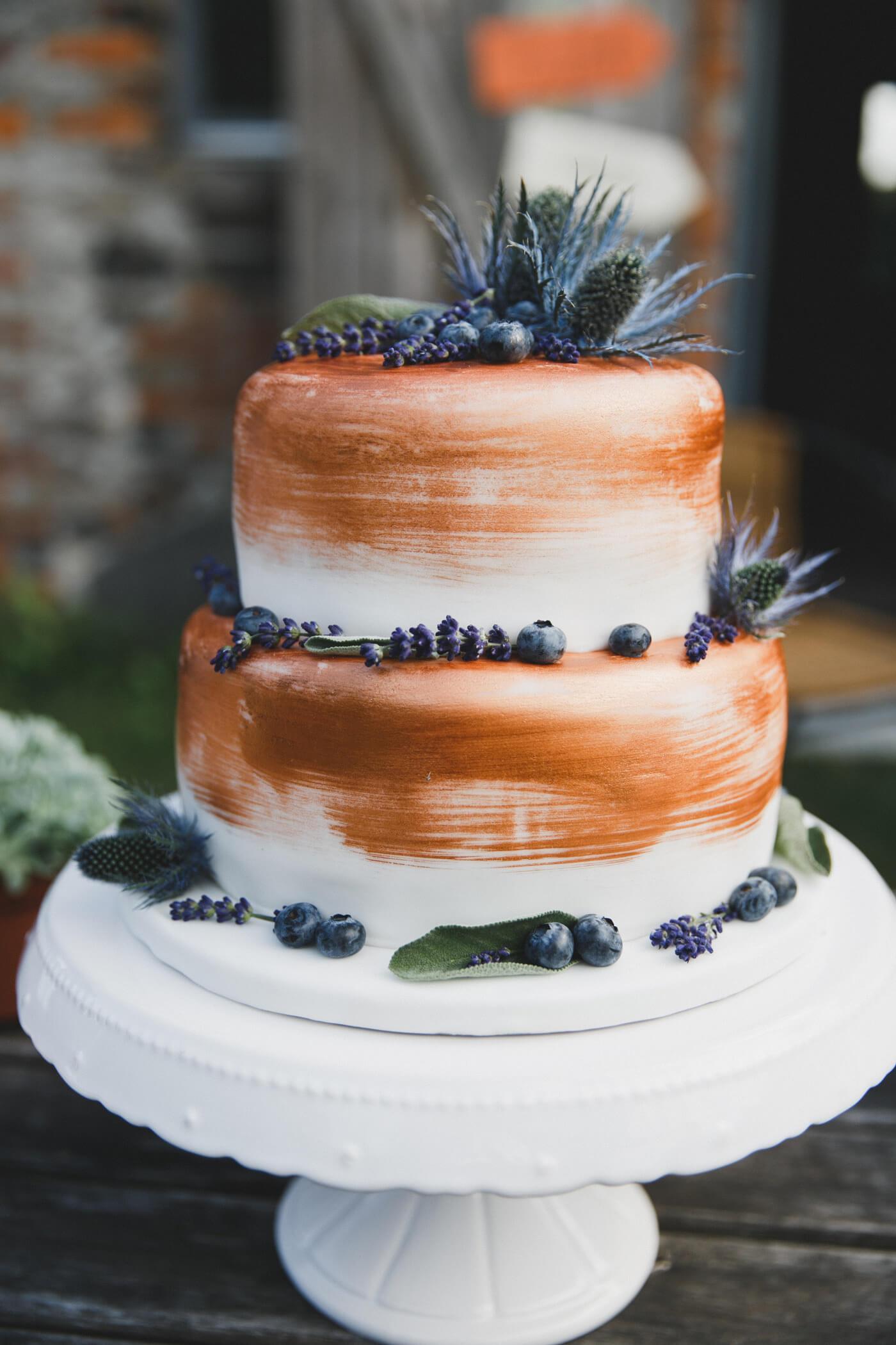 Hochzeitstorte Kupfer