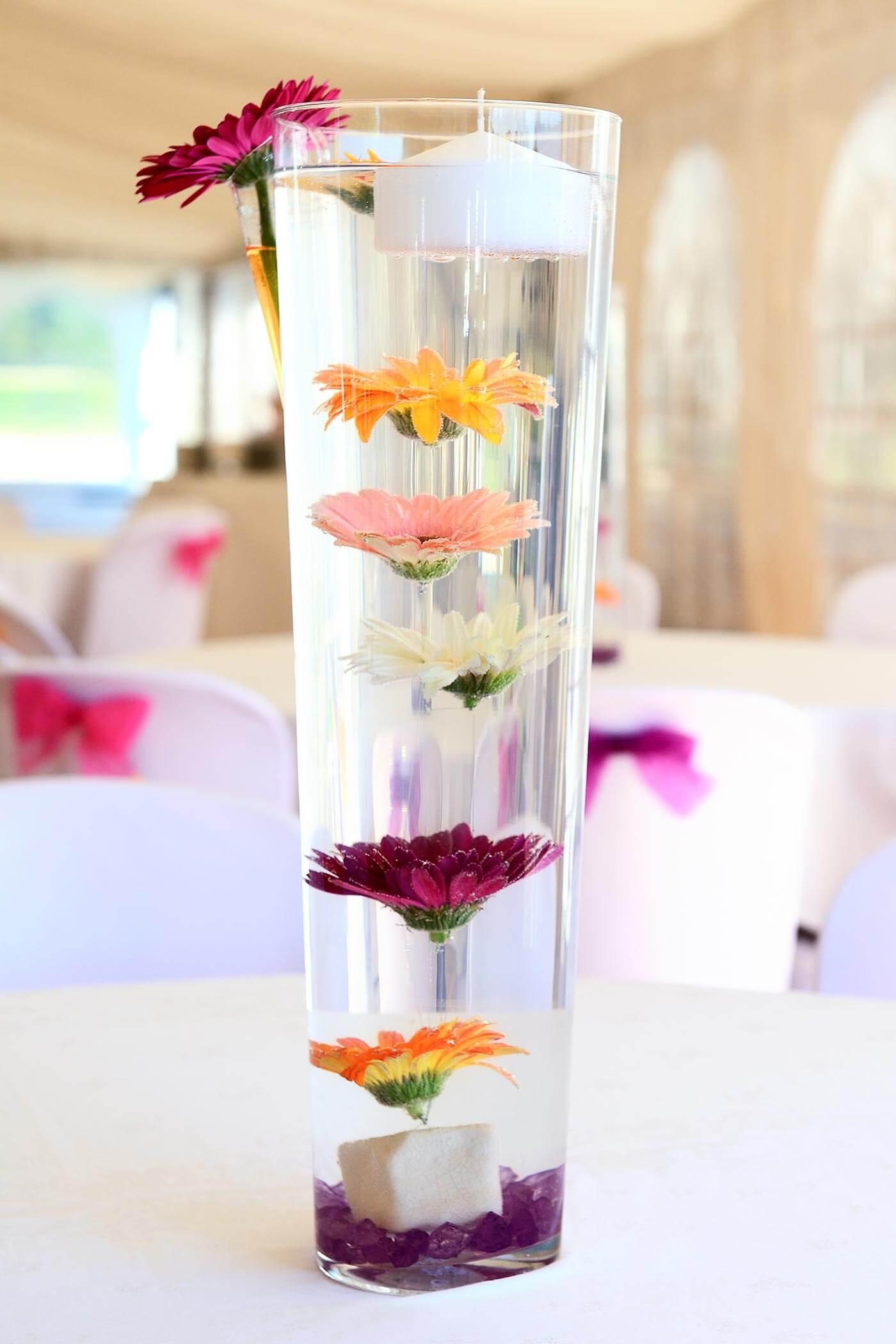 Blumen unter Wasser