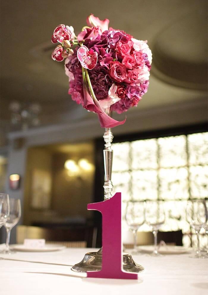 Blumendekoration Hochzeit