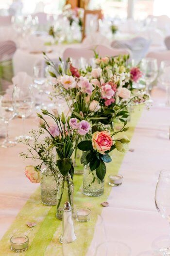 Blumenschmuck Hochzeit Tisch Viele Beispiele In Der Bildergalerie