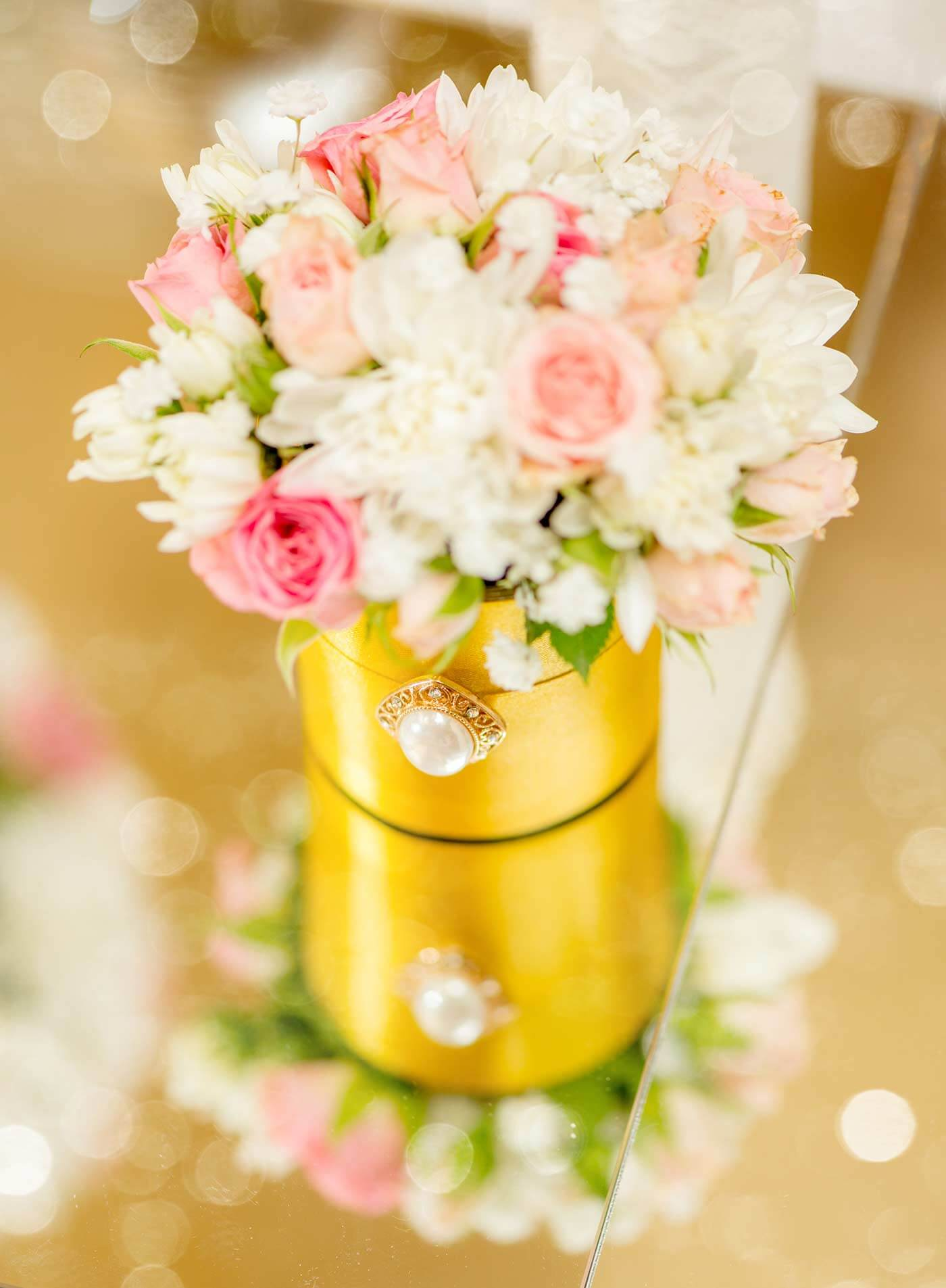 Deko Goldene Hochzeit
