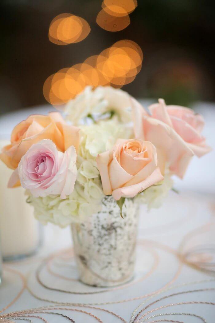 Dekorieren mit Blumen