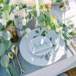 Eukalyptus Tischdeko Hochzeit