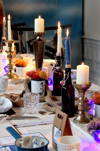 Flaschen Kerzenhalter
