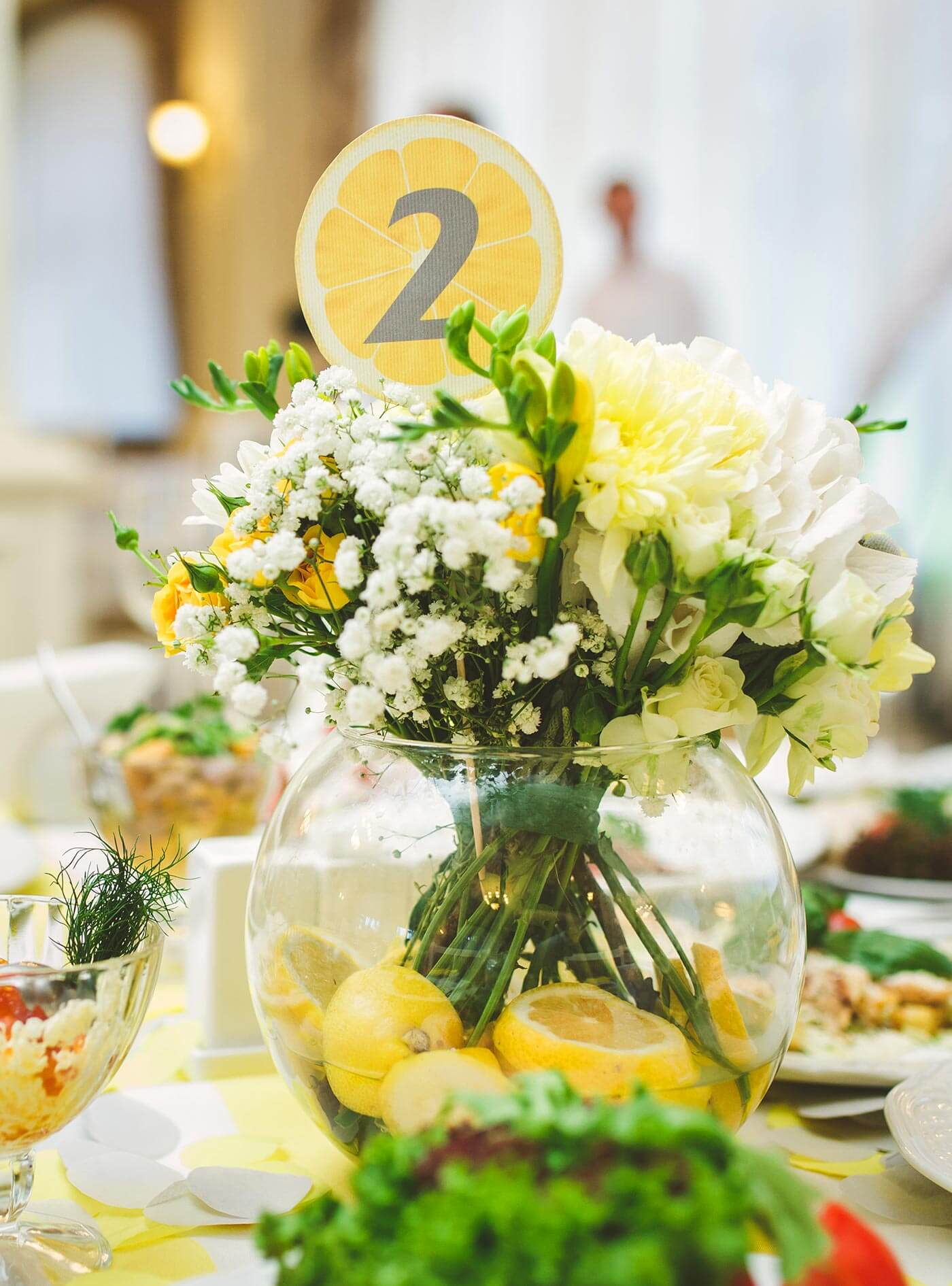 Hochzeit Tischnummern