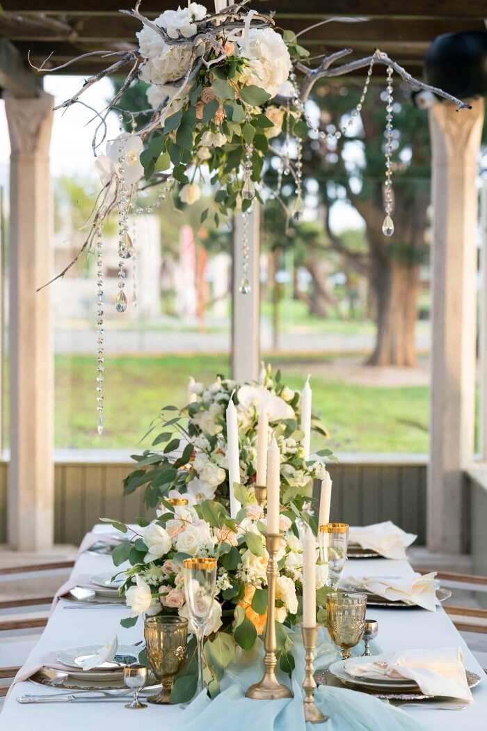 Hochzeitsdeko Tisch Ideen