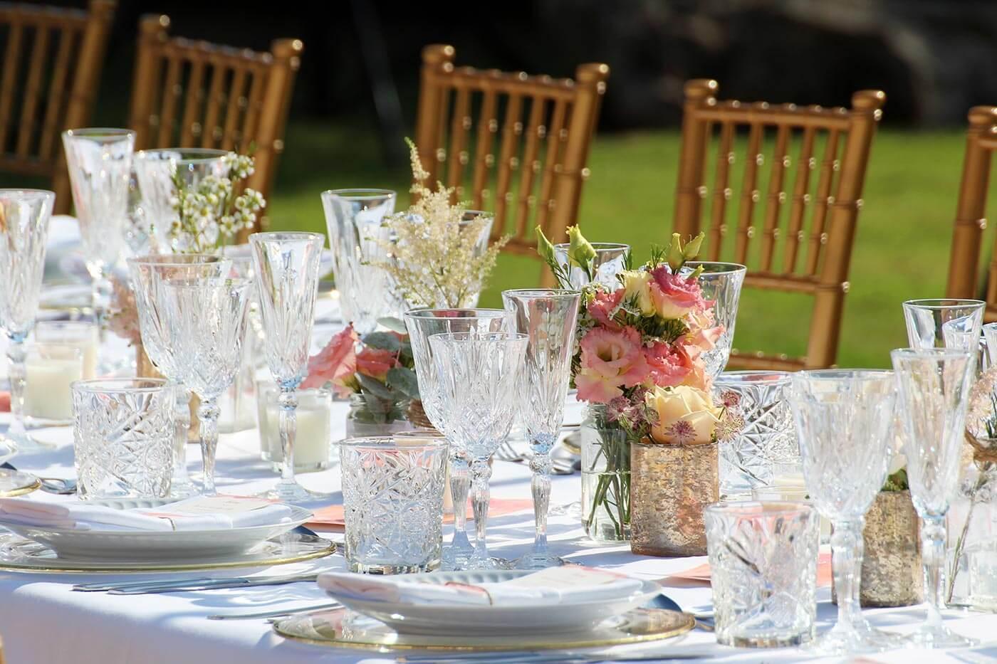 Hochzeitsdeko Tischdeko