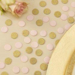 Hochzeitsdeko in Gold
