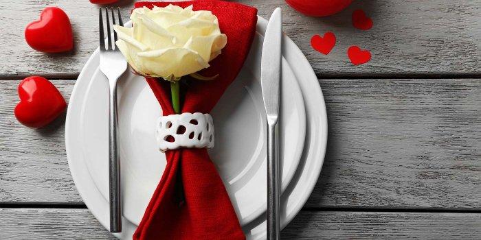 Hochzeitstischdeko Rot