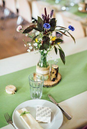Holzscheiben Tischdeko Viele Schone Ideen In Der Grossen Bildergalerie