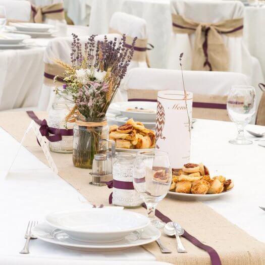 Lavendel tischdeko gro e bildergalerie for Lavendel tischdeko