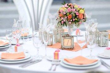 Mustertisch Hochzeit