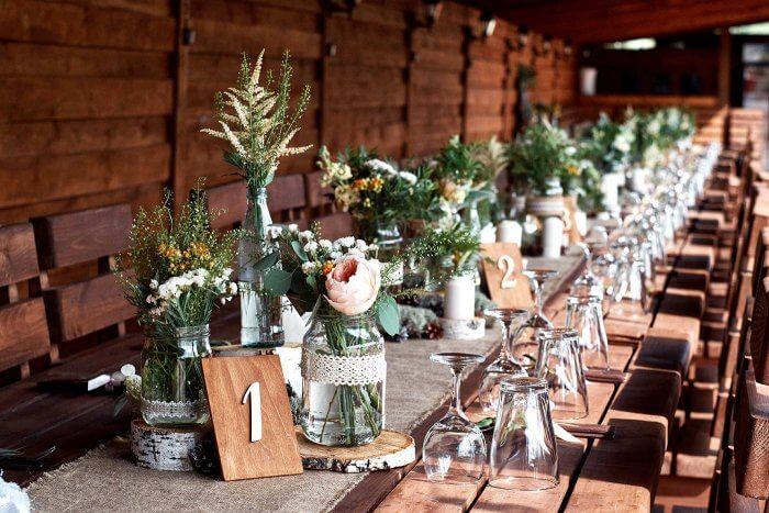 Deko Hochzeit Tischdeko