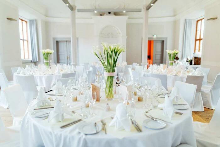Tischdeko Zur Hochzeit Mit Callas Mehr Beispiele In Der Bildergalerie