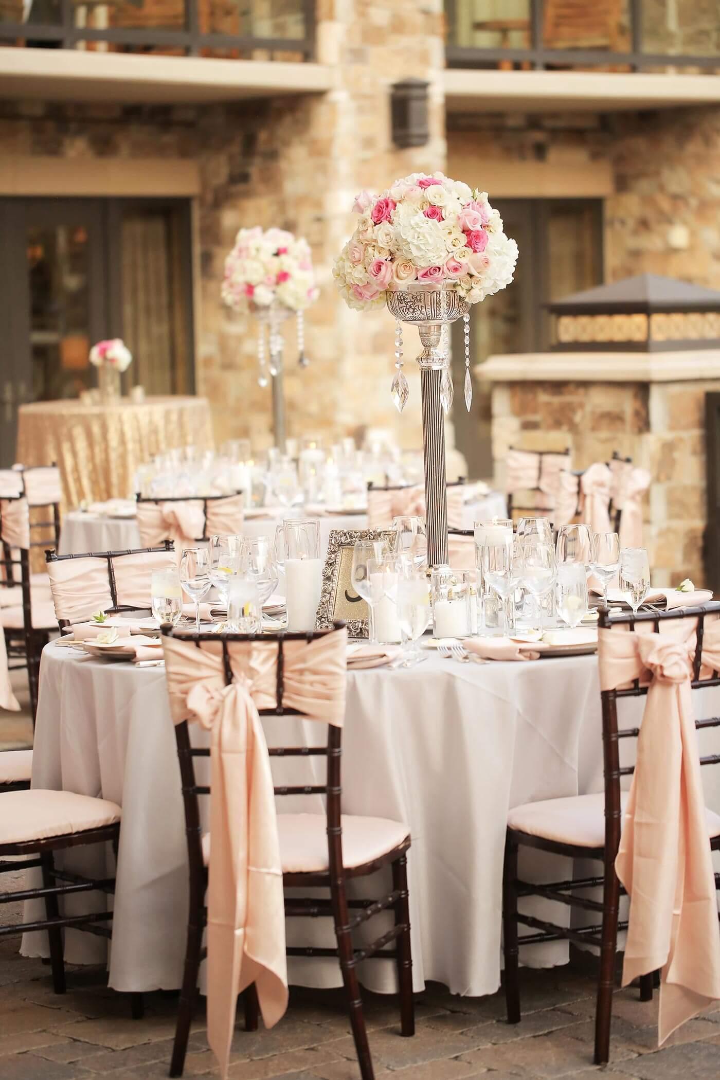 Tischdeko rosa i ideen f r eure hochzeit i viele bilder Rosa tischdeko hochzeit
