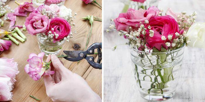 Hochzeitsdeko selber machen wunderbare hochzeitsdeko ideen im berblick - Blumengestecke ideen ...