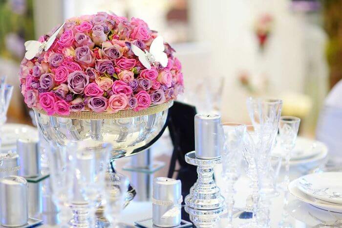Tischdeko zur silberhochzeit wundersch ne ideen in der bildergalerie - Tischdeko silberhochzeit ...