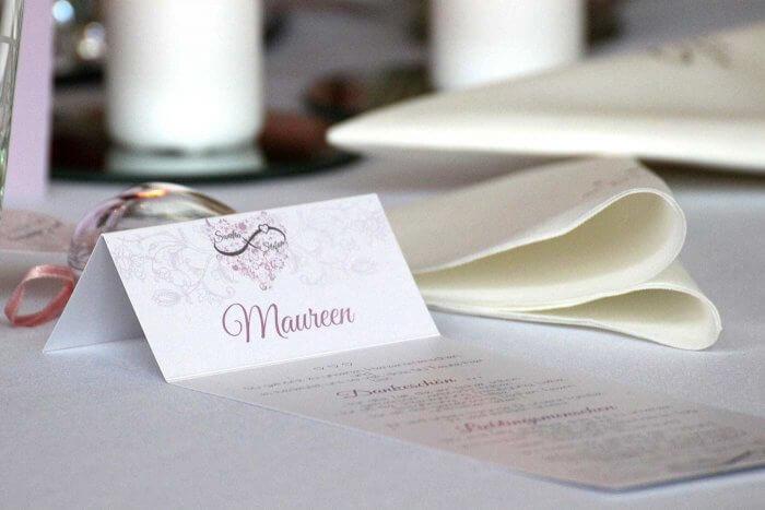 Tischkarten Ideen