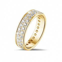Eheringe Gold mit Diamanten