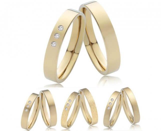 Hochzeitsringe aus Gold