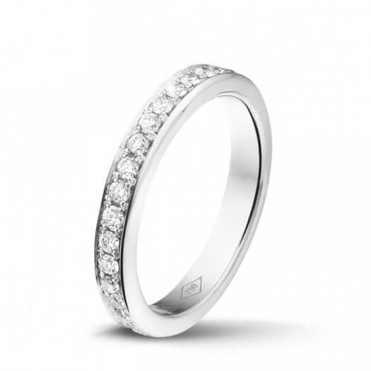 Weißgold Ringe mit Diamanten