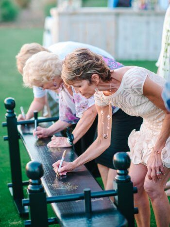 Hochzeit Gästebuch Ideen