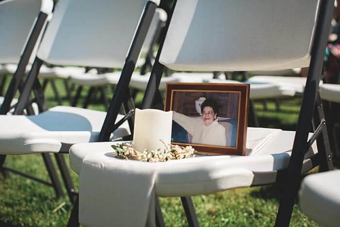 Tote Erinnern Hochzeit