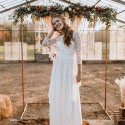Brautkleid bohemian