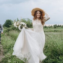 Hochzeitskleid Boho
