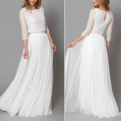 Standesamt-Kleid Boho