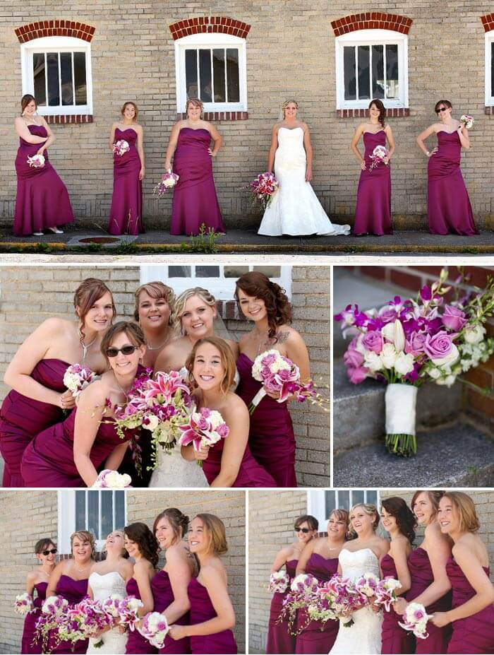 Brautjungfernkleider lila | Inspirationen, Tipps & Kleiderauswahl