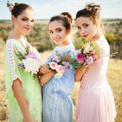 Brautjungfernkleider Pastelltöne