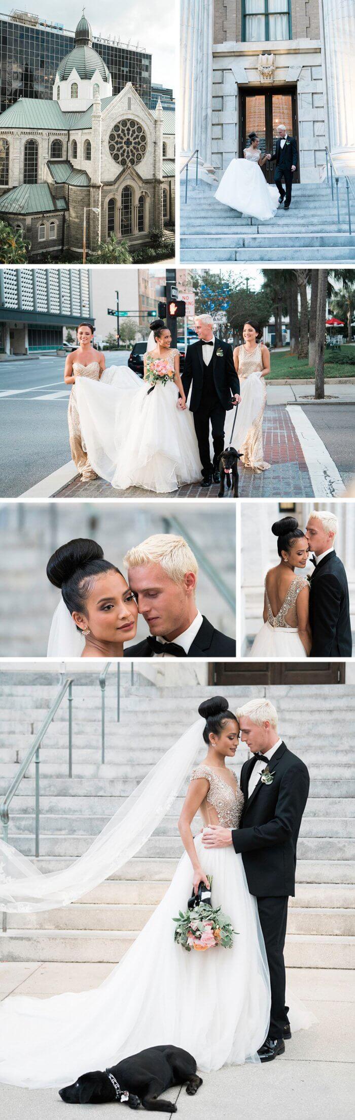 Hochzeit Glitzer