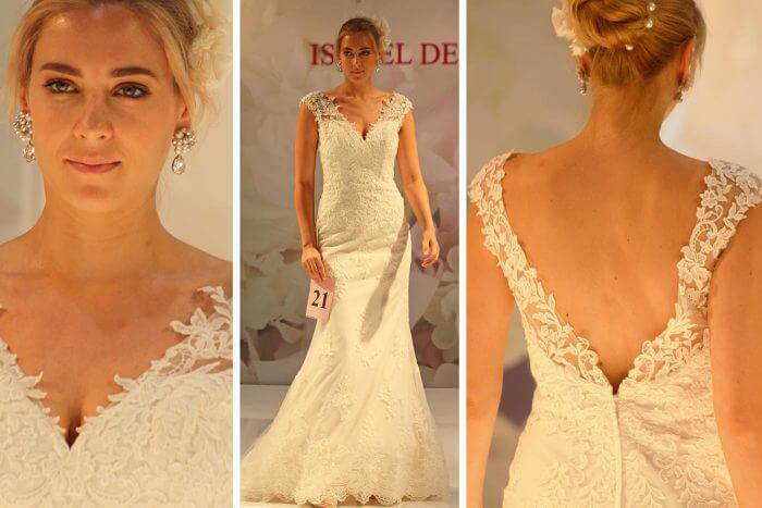 Brautkleid Rückenausschnitt Isabel De Mestre