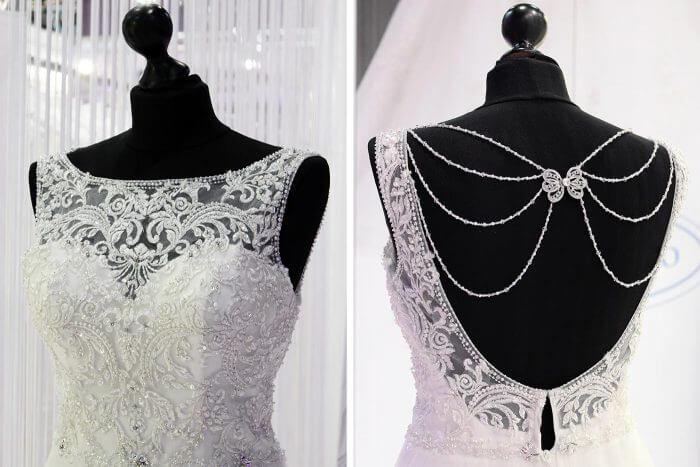 Brautkleider Spitze von Kleemeier