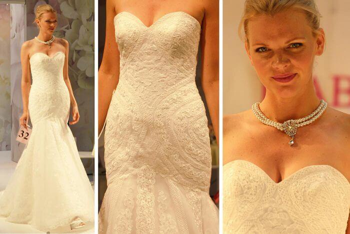 Hochzeitskleider mit Spitze der Marke Isabel De Mestre