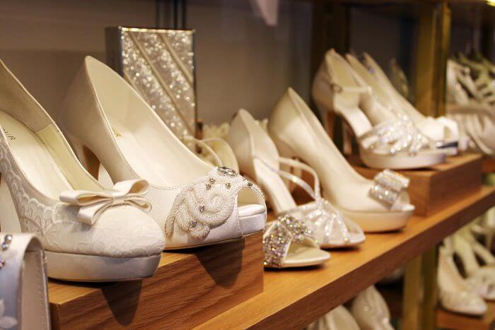 Braut Schuhe von Menbur