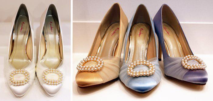 Brautschuhe gefärbt Elsa Coloured Shoes