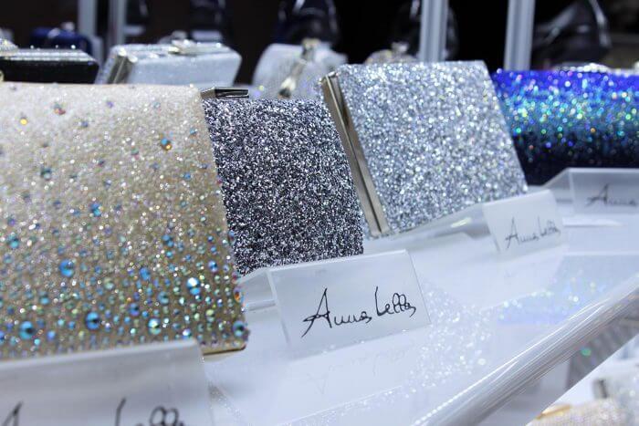 Brauttasche mit Glitzer von Anna Bella