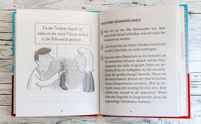 Fünf Sprachen der Liebe Buch